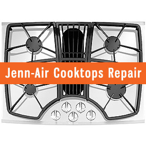Los Angeles Jenn Air Cooktops Repair and Service. Tel: (800) 530-7906
