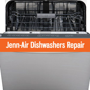Los Angeles Jenn Air Dishwashers Repair and Service. Tel: (800) 530-7906