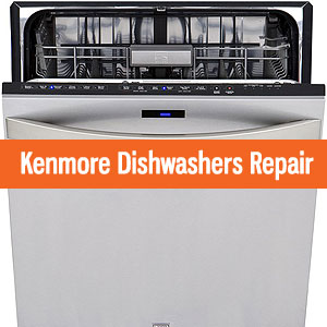 Los Angeles Kenmore Dishwashers Repair and Service. Tel: (800) 530-7906
