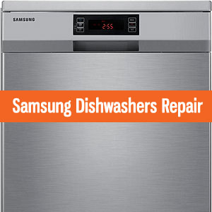Los Angeles Samsung Dishwashers Repair and Service. Tel: (800) 530-7906