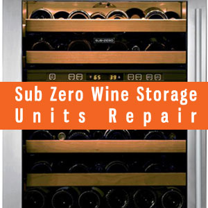Los Angeles Sub-Zero Wine Storage Refrigerators Repair and Service. Tel: (800) 530-7906