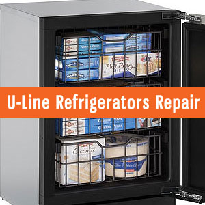 Los Angeles U-Line Refrigerators Repair and Service. Tel: (800) 530-7906