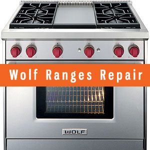 Los Angeles WOLF Ranges Repair and Service. Tel: (800) 530-7906